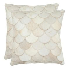 Ariel Cowhide Pillow (Set of 2)
