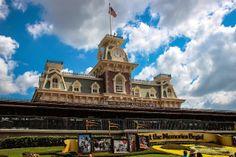 Let the Memories Begin! Walt Disney World Railroad Station!