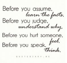 quotes dont assume, but ask - Google Search