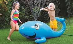 Want to turn your backyard into a water park? Hook up your hose to these sprinklers for kids, including ones from Little Tikes, Fun Splashers, and more.