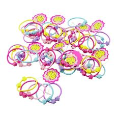 Uxcell 50 Piece Elastic Band Hair Tie Ponytail Holder, Assorted Colors, 0.08 Pound *** Visit the image link more details.