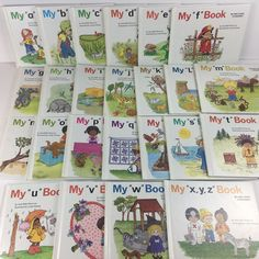 Complete My First Steps to Reading 24 Books Jane Belk Moncure A Z My First Book   eBay