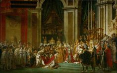 Jacques-Louis David, The Consecration of the Emperor Napoleon and the Coronation of Empress Joséphine on December 2, 1804 (1806-07)