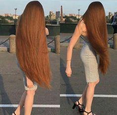 How to Grow Super Long Hair You'll Need: 1 tbsp coconut oil 1 tbsp . Long Hair Tips, Long Red Hair, Very Long Hair, Big Hair, Beautiful Long Hair, Gorgeous Hair, Beautiful Women, Rapunzel Hair, Loose Hairstyles