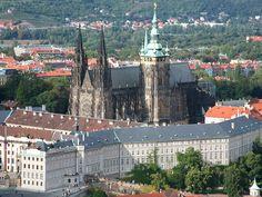 Prague castle, Czechia - the largest castle complex in Europe