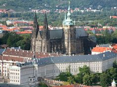Prague castle, Czechia - the largest castle complex in Europe