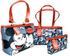Cute! Link leads to blog about all their bags. This Mickey {hearts} Minnie line was released in July of 2012.