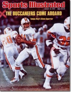 Tampa Bay Buccaneers uniform history - Bing Images. That is Steve Spurrier at quarterback. I loved those losers. :-)
