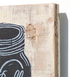 No. 11 Mason Jar Wood Art
