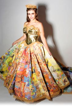 Golden books gown - Google Search