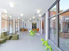 Nursery School Laskahof with DLW Linoleum / our client:     dlw.de  / via: ais-online.de