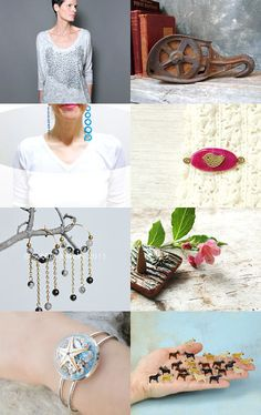 Eclectic by Semi Vintage on Etsy--Pinned with TreasuryPin.com