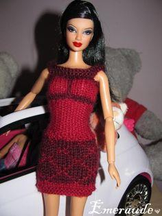 Tricot: Robe d'été n°7 pour Barbie                                                                                                                                                                                 Plus