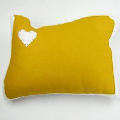Oregon Pillow Mustard