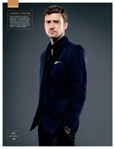 """Justin Timberlake: Capa da GQ Russia  """"Justin Timberlake se tornou ministro da cultura pop"""""""