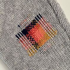 My latest mending commission- an elbow repair on a knitted jacket in autumnal shades. Do get in touch if you have a piece of knitwear in… Knitting Projects, Knitting Patterns, Sewing Patterns, Sewing Projects, Blanket Patterns, Hand Knitting, Techniques Couture, Sewing Techniques, Textiles