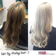 Stunning ash blonde colour correction by Shelby Hoer, needless to say our guest was thrilled with the result. It's worth noting that this colour transformation would not have been possible without using Olaplex! Feel free to drop us a message if you have any questions about changing your hair colour, we're here to help :)