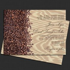 Coffee Beans Rustic Faux Bois Wedding by PineAndBerryShop on Etsy, $35.00 Coffee To Go, Coffee Love, Coffee Theme, Coffee Design, Wedding Decorations, Wedding Ideas, Coffee Beans, Wedding Season, Animal Print Rug