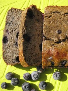 Blueberry Coconut Loaf- gluten-free, dairy-free, nut-free breakfast loaf or snack on the go!