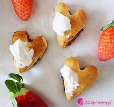 Kreatywnepiny: Bardzo proste i szybkie ciasteczka francuskie: ser...