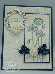 Nouveau catalogue de printemps Stampin'UP - Scrapbooking Stampin Up Canada… Stampin Up, Poppy Cards, Stamp Sets, Give It To Me, How To Make, Poppies, Creations, Card Making, Invitation