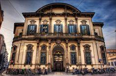 HDR Travel Photography of Ken Kaminesky (Central Public Library - Palazzo Sormani Andreani, Milan Italy)