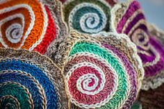 Ravelry: Spiral Construction~When Alice Fell pattern by Charissa Ragsdale