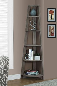 Designed with practical style, this bookshelf has plenty of room to store all your favourite titles.