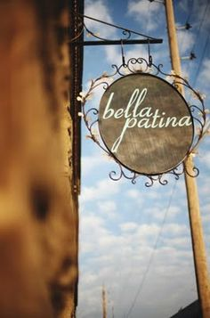 Bella Patina at 1324 W. 12th Street is filled to the brim with antique, embellished, repurposed, delicious and feminine furniture and decorations.
