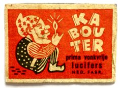 Vintage Dutch matchbox