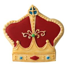 SK Crown King Cookie Cutter