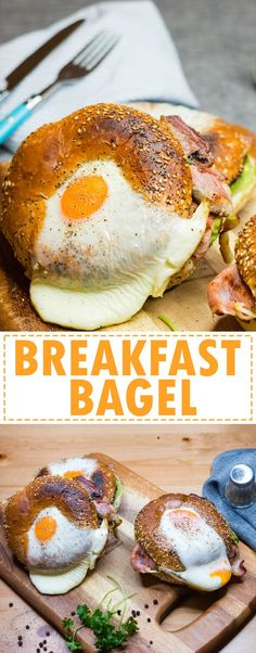 Bacon egg and avocado breakfast bagel is the ultimate easy to make yummy breakfast! Rich flavor with every single bite!
