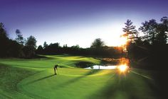 Use these 5 Michigan Sunrise to Sunset Golf Itineraries to plan your next golfing trip! #MichiganGolfMonth