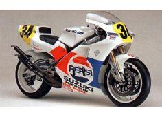 Kevin Schwantz Pepsi suzuki, a classic one