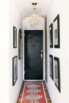 small new york entryway