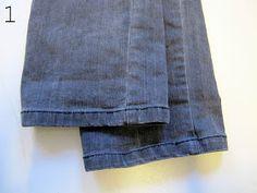 marapytta syskole: Gode råd - Jeans oplægning