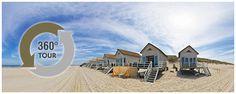 Strandslaaphuisjes - Stranddroom - Slaaphuisjes op het strand Domburg