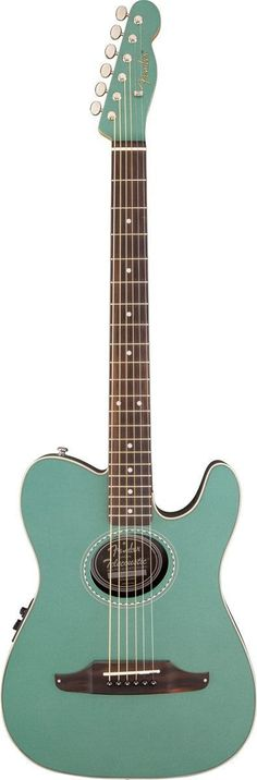 Fender Telecoustic Plus Acoustic-Electric Guitar | Sherwood Green
