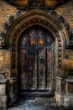 ..entrance to a secret passageway hidden in old castles