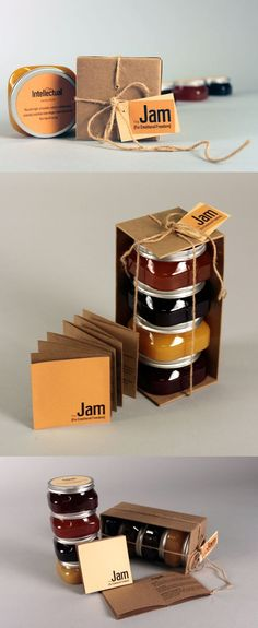 Through the years as packaging design has evolved it has kept the essence of the jam bottle and has also given new directions of creativity and innovation. http://wedesignpackaging.com/jam-packaging-design-for-inspiration/