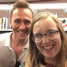 """veevloot: """"Today is a winner! I met the amazing and so nice Tom Hiddleston in store. He was so dapper!"""" https://www.instagram.com/p/BJEDwitjhIG/ Video: https://www.youtube.com/watch?v=lWGBSzN78pc&feature=youtu.be"""
