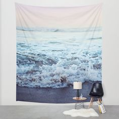 Crash into Me Wall Tapestry by Leah Flores | Society6