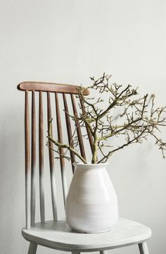 2017 interior color trends by Flexa Home Interior, Interior Styling, Interior And Exterior, Interior Decorating, Wabi Sabi, Dipped Furniture, Painted Furniture, Ideas Hogar, Painted Chairs