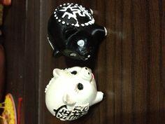 Magnet Pig - Black & White