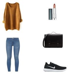 Bez tytułu #89 by wiki208 on Polyvore featuring moda, Dorothy Perkins, NIKE and Maybelline