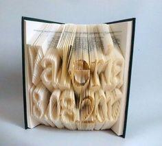 VALERIA   elartedeowl.blogspot.com elartedeowl.tumblr.com   #librosplegados #librosplisados #arteconlibros #foldingbooksart #alteredbook #upcycle #recycled #reciclado #eco #diseño #design #hechoamano #handmade