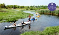 Groupon - Two-Hour Guided Kayak Tour of Cape Cod for Two or Four from EcoTourz (Up to 60% Off) in Sandwich. Groupon deal price: $69