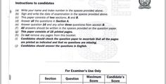 KNEC KCSE 2019 Mathematics Paper 1 Past Paper - Muthurwa.com Past Papers, Exam Papers, National Examination, Marking Scheme, Computer Paper, Business Studies, Question Paper, Secondary School, Mathematics