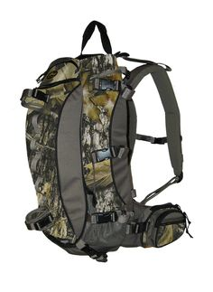 Horn Hunter 'Main Beam' Backpack (New Mossy Oak Breakup) * Unbelievable product right here! : Hiking backpack