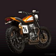 Custom Kawasaki W650 by Ton Up Garage